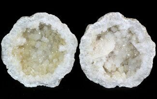 "3.5"" Keokuk Geode with Quartz - Missouri For Sale, #47114"