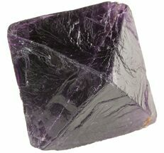 "Buy 1.63"" Fluorite Octahedron - Purple - #48277"