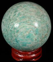 "Buy 2.2"" Polished Amazonite Crystal Sphere - Madagascar - #51607"