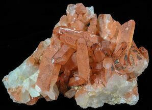"3.3"" Natural Red Quartz Crystals - Morocco For Sale, #51551"