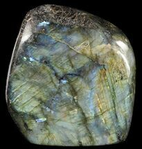 "3.6"" Tall, Flashy Polished Free Form Labradorite For Sale, #54914"