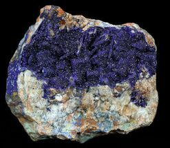 "2.6"" Vivid Blue, Drusy Azurite - Morocco For Sale, #57020"