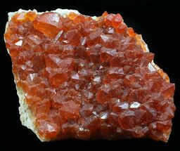 "2.1"" Natural, Red Quartz Cluster - Morocco For Sale, #57098"