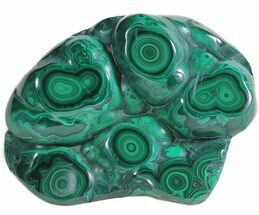 "4.1"" Polished Malachite - Congo For Sale, #58184"