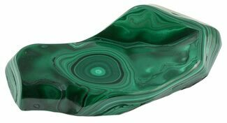 "4.7"" Polished Malachite - Congo For Sale, #58214"