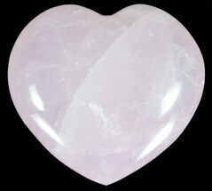 "Buy 3.4"" Polished Rose Quartz Heart - Madagascar - #59101"