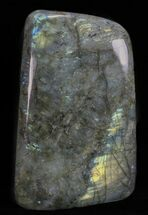 "6.6"" Tall, Flashy Polished Free Form Labradorite For Sale, #60077"