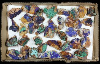 Buy Sparkling, Drusy Azurite & Malachite Wholesale Lot -35 Pieces - #61609