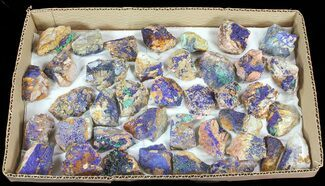 Buy Sparkling, Drusy Azurite & Malachite Wholesale Lot -37 Pieces - #61579