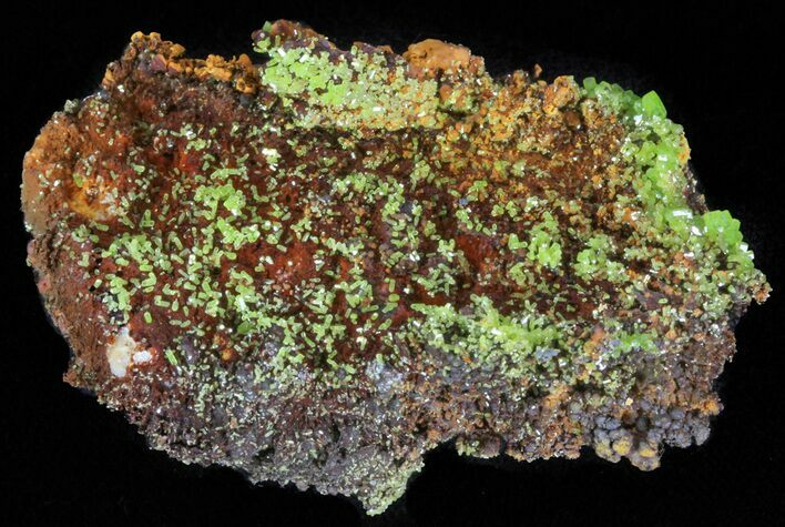 "2.1"" Pyromorphite Crystal Cluster - China"