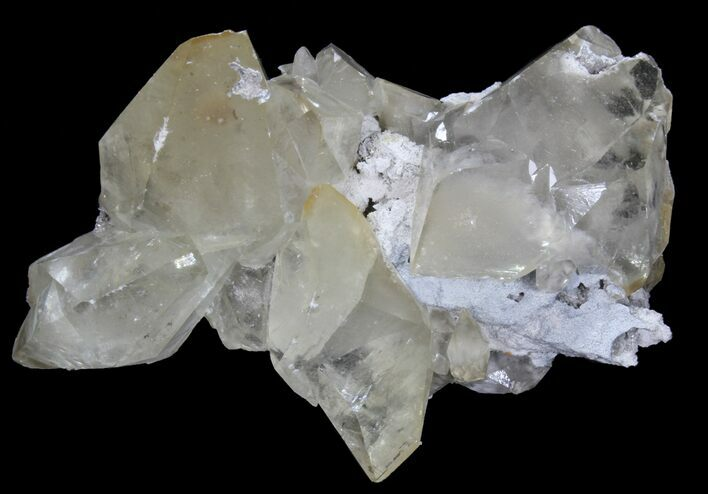 "6.8"" Gemmy, Twinned Calcite Crystal Cluster - Tennessee"