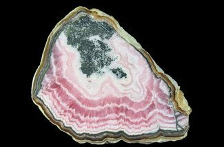 Rhodochrosite & Pyrite - Fossils For Sale - #65052