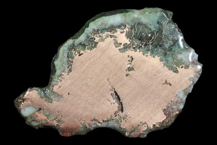 "3"" Copper Ore Slice - Michigan"