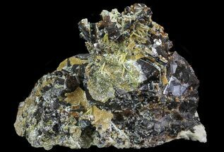 "3.0"" Garnet Cluster with Feldspar and Epidote- Pakistan For Sale, #38732"