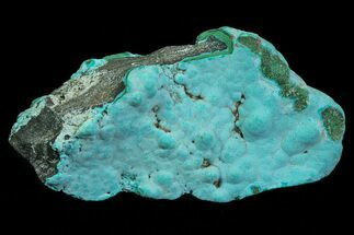 Chrysocolla & Malachite - Fossils For Sale - #69807