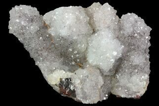"3.3"" Quartz Encrusted, Hematite Quartz - Morocco For Sale, #70778"