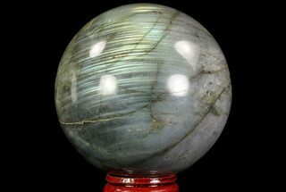 "2.7"" Flashy Labradorite Sphere - Great Color Play For Sale, #71816"