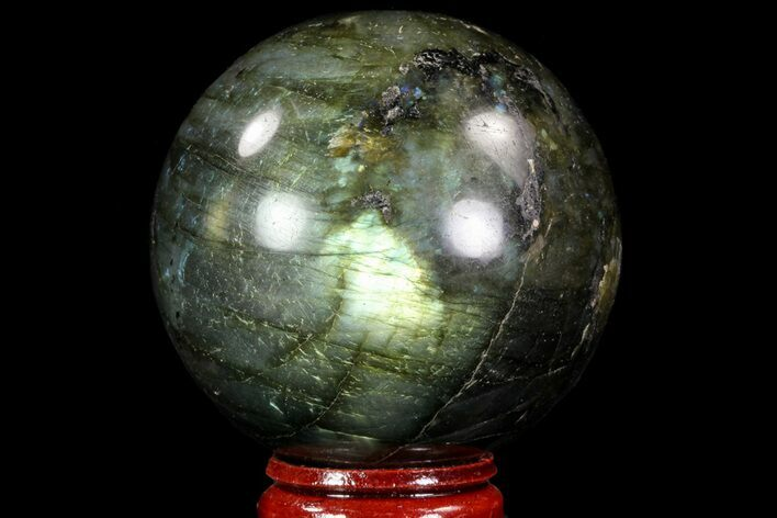 "2.2"" Flashy Labradorite Sphere - Great Color Play"