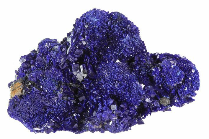 "1.1"" Sparkling Azurite Crystal Cluster - Morocco"