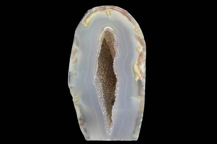 "2.5"" Polished Brazilian Agate Standup - Quartz"