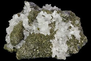 Galena, Chalcopyrite & Quartz - Fossils For Sale - #73836