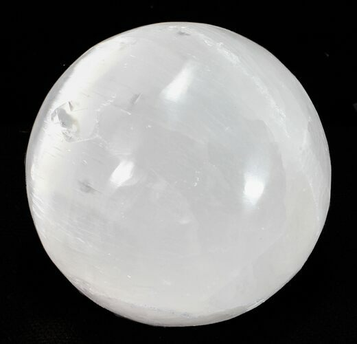"Wholesale Box: 1-1/2"" Selenite Spheres - 180 Pieces"