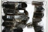 "Wholesale Lot: 21 Lbs Cut base Smoky Quartz Crystals (2-4"") - Brazil - #77822-2"