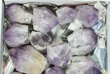 "Wholesale Box: 26 Lbs Amethyst Crystals (2-4"") - Brazil - #77846-2"