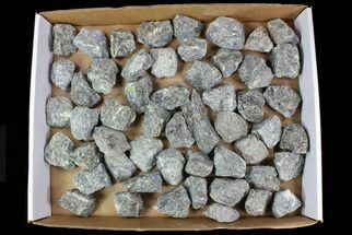 "Wholesale Lot: 2-3"" Raw, Unpolished Labradorite - 5kg (11 lbs) For Sale, #78014"