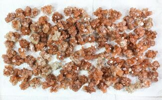 Buy Wholesale Lot: Small Twinned Aragonite Crystals - 118 Pieces - #78103