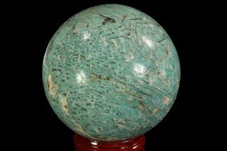 "Buy 2.1"" Polished Amazonite Crystal Sphere - Madagascar - #78730"