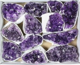 Quartz var. Amethyst - Fossils For Sale - #79401