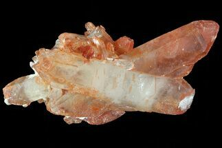 Quartz with Iron Oxide - Fossils For Sale - #80565