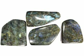 Buy Wholesale Lot: 35 Lbs Free-Standing Polished Labradorite - 4 Pieces - #78025