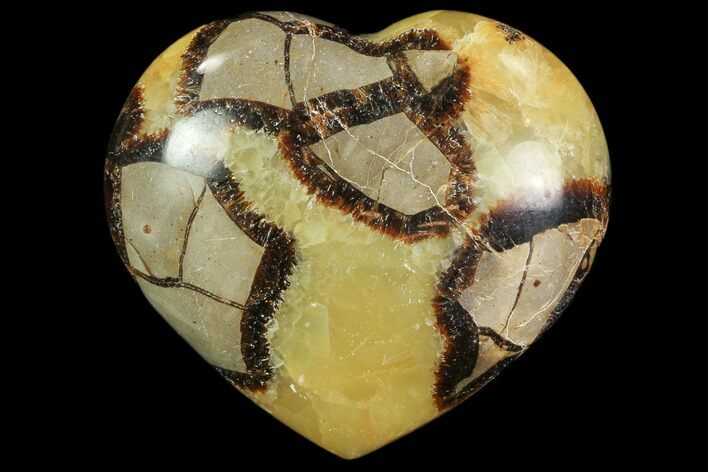 "2.9"" Polished Septarian Heart"