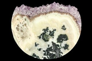"2.7"" Amethyst & Agate Slab - Artigas, Uruguay For Sale, #83495"