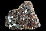 "3.8"" Huge, Red Vanadinite Crystal (NEW FIND) - Morocco - #84338-1"