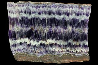 "5.3"" Chevron Amethyst Slab - Morocco For Sale, #87257"