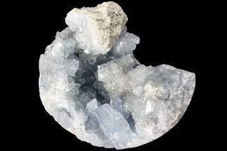 "Buy 3.7"" Sky Blue Celestite Crystal Cluster - Madagascar - #88324"