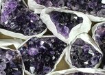 Wholesale Lot: Uruguay Amethyst Clusters (Grade A) - 10 Pieces - #90133-1