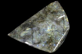 "6.7"" Flashy Polished Labradorite Free Form For Sale, #90674"