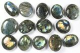 Wholesale Box: Polished Labradorite Pebbles - 5 kg (11 lbs) - #90658-1