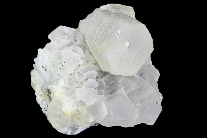 "2.3"" Quartz, Calcite, Pyrite and Fluorite Association - Fluorescent"
