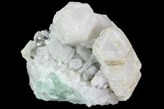 Quartz, Calcite, Pyrite and Fluorite  - Fossils For Sale - #92094