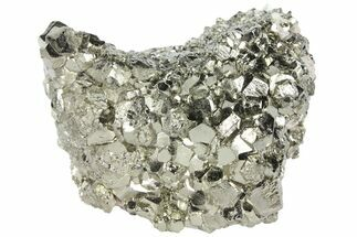 "2.6"" Gleaming Pyrite Crystal Cluster - Peru For Sale, #94346"