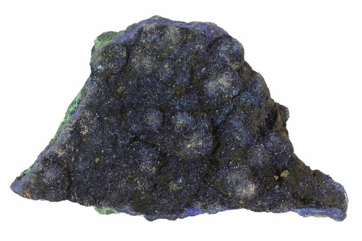 "2"" Dark Blue Azurite with Malachite - Laos"