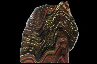Tiger Iron Stromatolite - Fossils For Sale - #95895