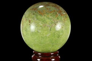 "Buy 2.8"" Polished Green Opal Sphere - Madagascar - #95881"