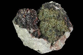 Sphalerite, Marcasite & Quartz - Fossils For Sale - #96375