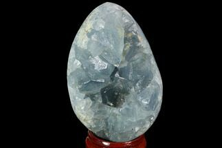 "2.3"" Crystal Filled Celestite ""Egg"" Geode - Madagascar For Sale, #98783"
